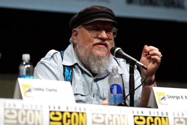 George R. R. Martin. Photograph by Gage Skidmore (http://commons.wikimedia.org/wiki/File%3AGeorge_R._R._Martin_(9350730880).jpg)